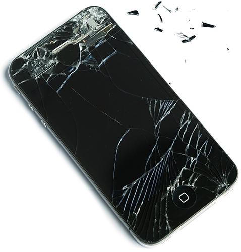 Shattered Phone